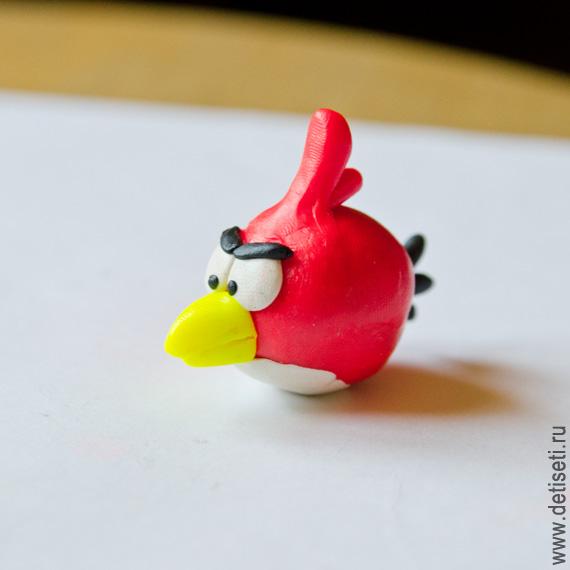 Angry Birds: Красная птичка (Рэд)