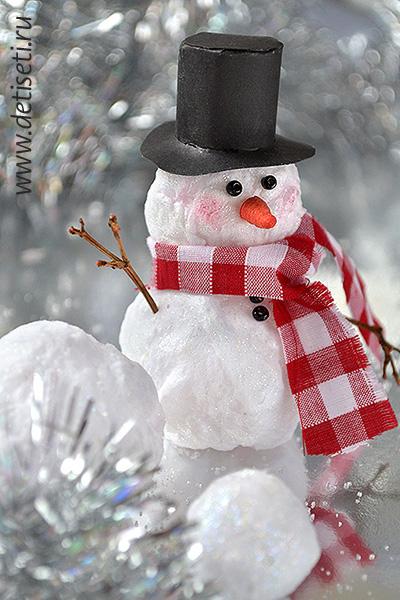 Поделка своими руками снеговик фото