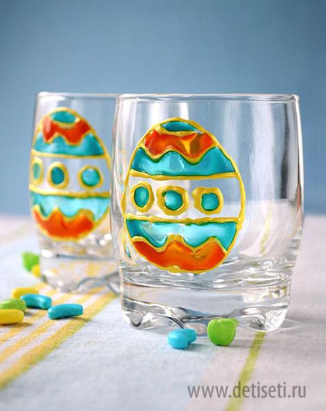 Пасхальные стаканчики