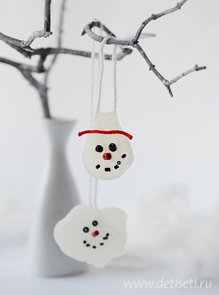 Растаявший снеговик