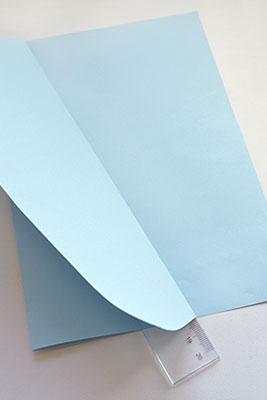 Согните лист по полученной линии