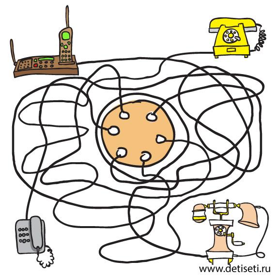 Телефоны и провода
