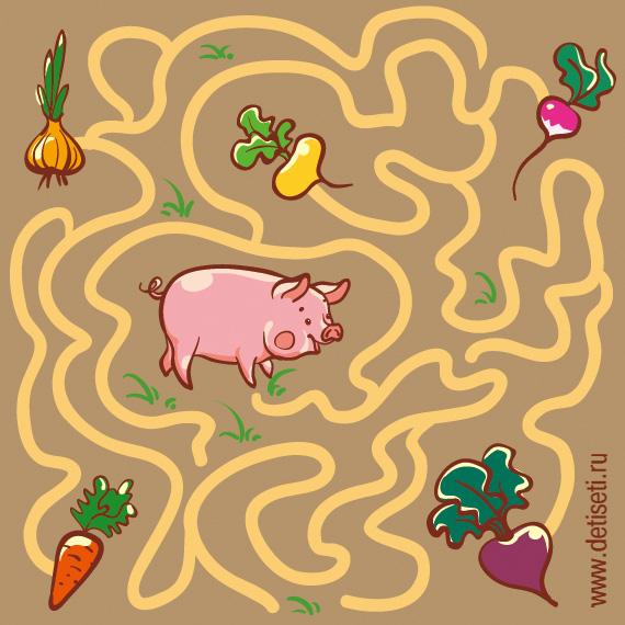 Накорми свинку