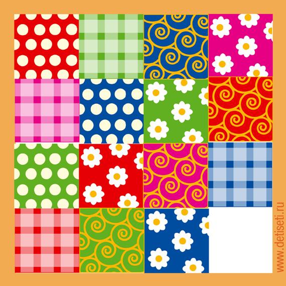 Рисунок для одеяла из лоскутков