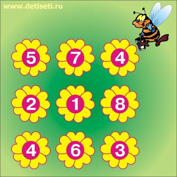 Пчёлка собирает пыльцу