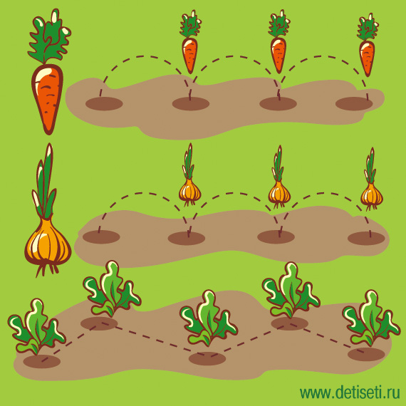 Посади огород