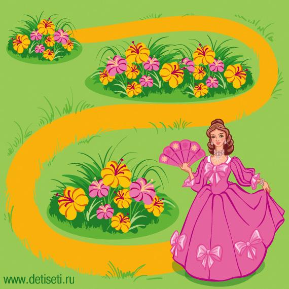 Цветник принцессы
