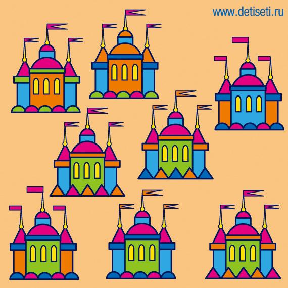 Дворцы для принцесс-сестричек