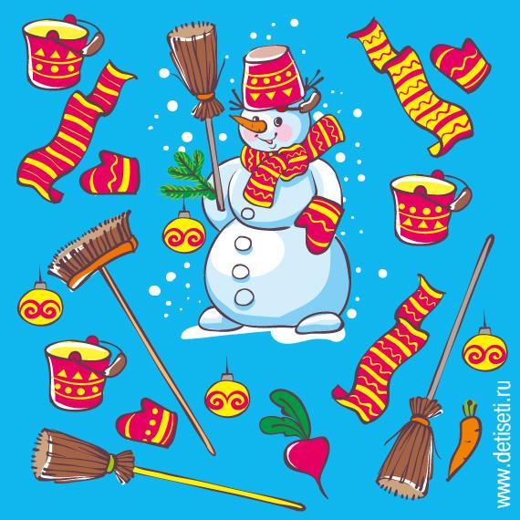 Наряд для снеговика