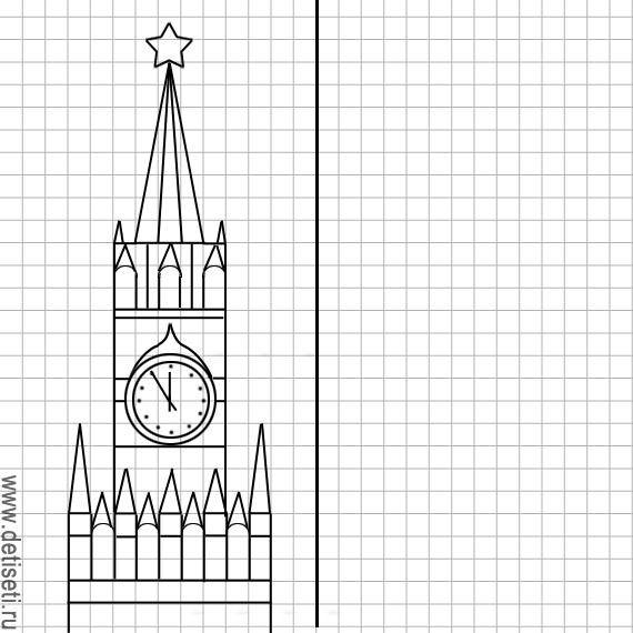Спасская башня и куранты