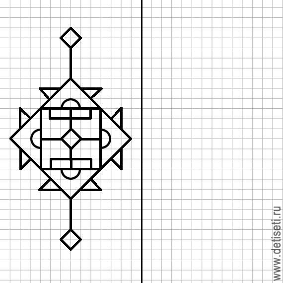 клетку тетрадном на листе рисунки в