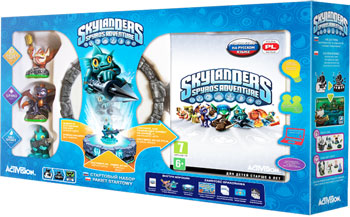 1 место - главный приз конкурса - стартовый набор Skylanders Spyro's Adventure
